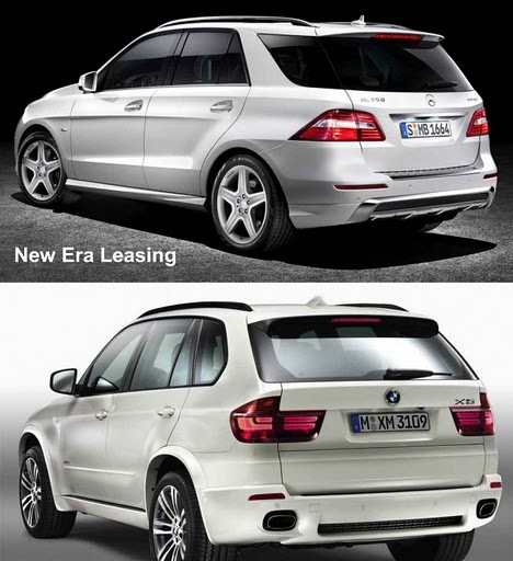 All New 2012 BMW X5 and 2012 Mercedes Benz ML350 Comparison
